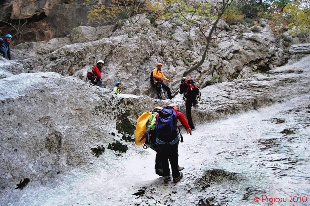 Gorropu-Canyoning