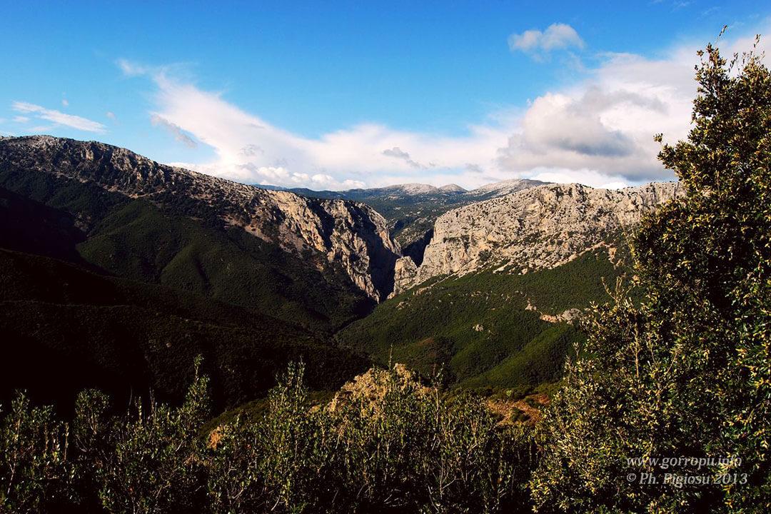 Gorropu-Panorama